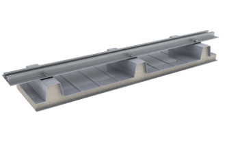 Nosilni profili za pločevinaste strehe s trapezno kritino